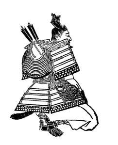 明治時代、菊池容斎により描かれた平賀義信。
