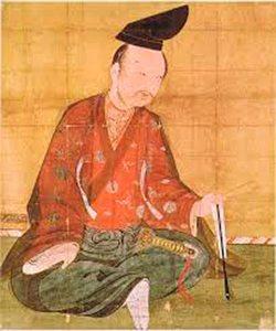 中尊寺所蔵の源義経像。