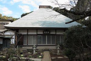 清雲寺本堂。