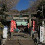 海南神社。千年の歴史を感じるお社は三崎公園から歩いてすぐです。