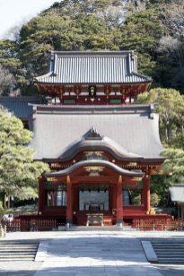 源氏ゆかりの地。鶴岡八幡宮。鎌倉と源氏の象徴にして、鎌倉の中心的存在。