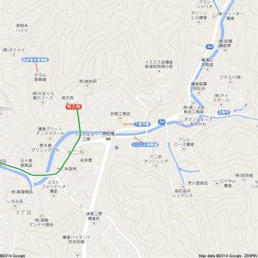 王道金沢街道地図5