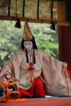 鎌倉まつり、静の舞。舞が始まりました。撮影協力:鎌倉市観光協会