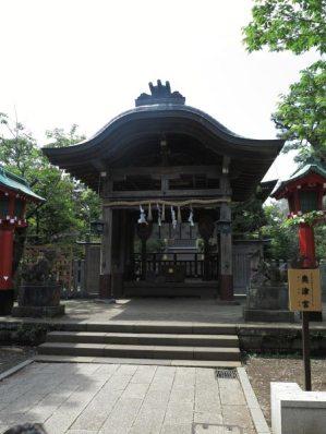 江島神社、奥津宮。