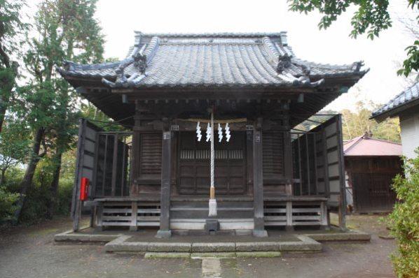 相馬天王(八坂神社)の本殿。