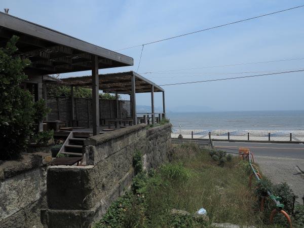 海岸沿いのSAIRAMからは海が一望できます。