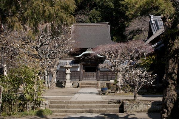 円覚寺、舎利殿。神奈川県唯一の国宝建造物。
