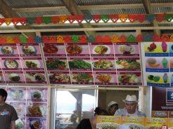 鎌倉長谷にある「タイ村889」のメニューの一部。
