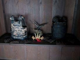 旧石井家住宅の「へや」にあった調度品。