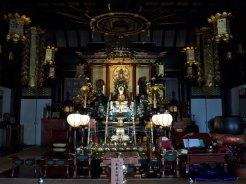 延命寺本堂の御本尊、大日如来尊像造立。