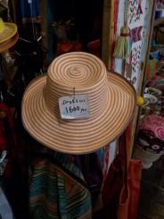 SOUK SOUK SOUKの帽子(1,600円)。綺麗な色。