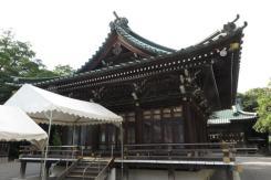 三嶋大社の舞殿。