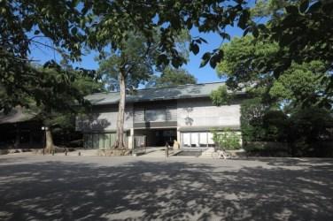 三嶋大社の宝物館。