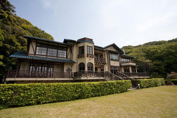 鎌倉文学館(旧前田侯爵家別邸)