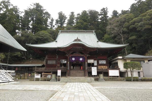 清澄寺、大堂。天和2年(1682年)の建物です。