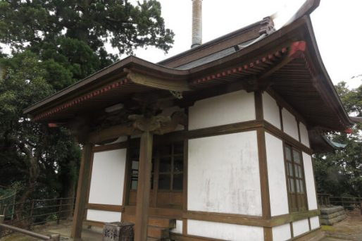 清澄寺、旭が森にあるお堂。