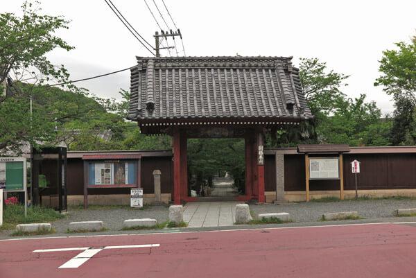 称名寺惣門(赤門)