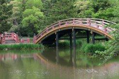 称名寺、浄土庭園の反橋