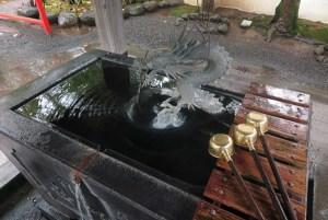 修禅寺。手水。