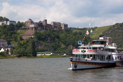 St. Goar y el castillo Rheinfels