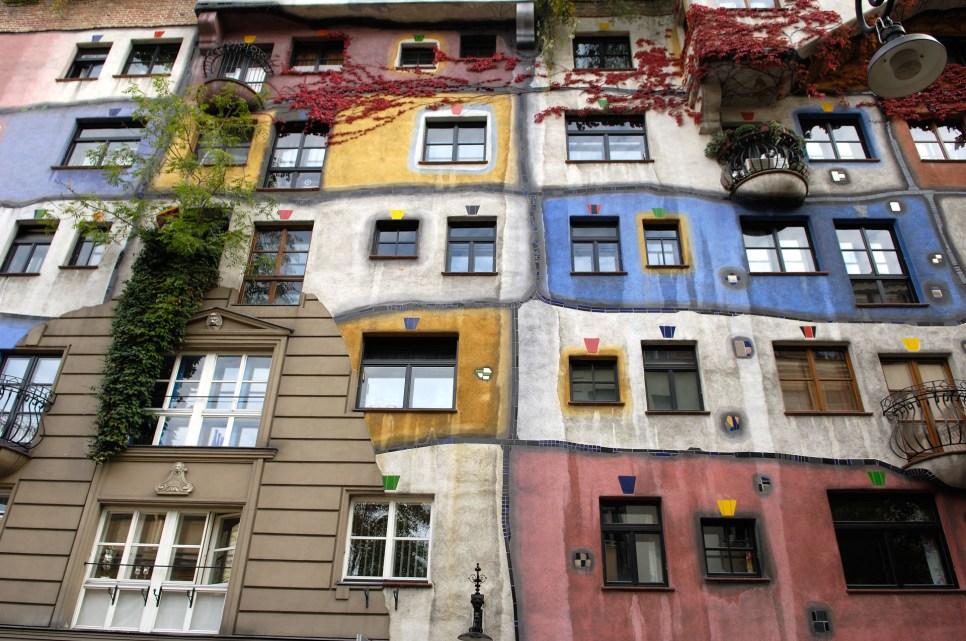 AUSTRIA. VIENA. Casa de Hundertwasser.