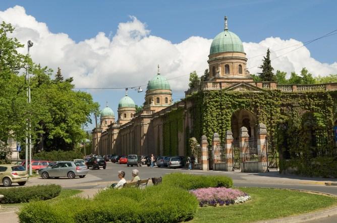 CROACIA. ZAGREB. Cementerio Mirogoj.