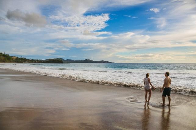 Flamingo beach. Guanacaste. Costa Rica