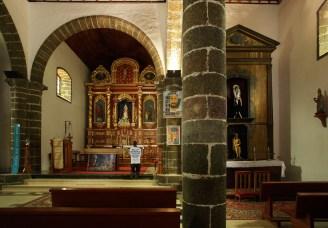 Iglesia de la Candelaria, el Golfo,Frontera, Isla del Hierro, Canarias
