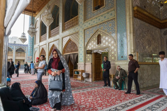 Shah Cheragh, funerary monument and mosque in Shiraz, Iran.