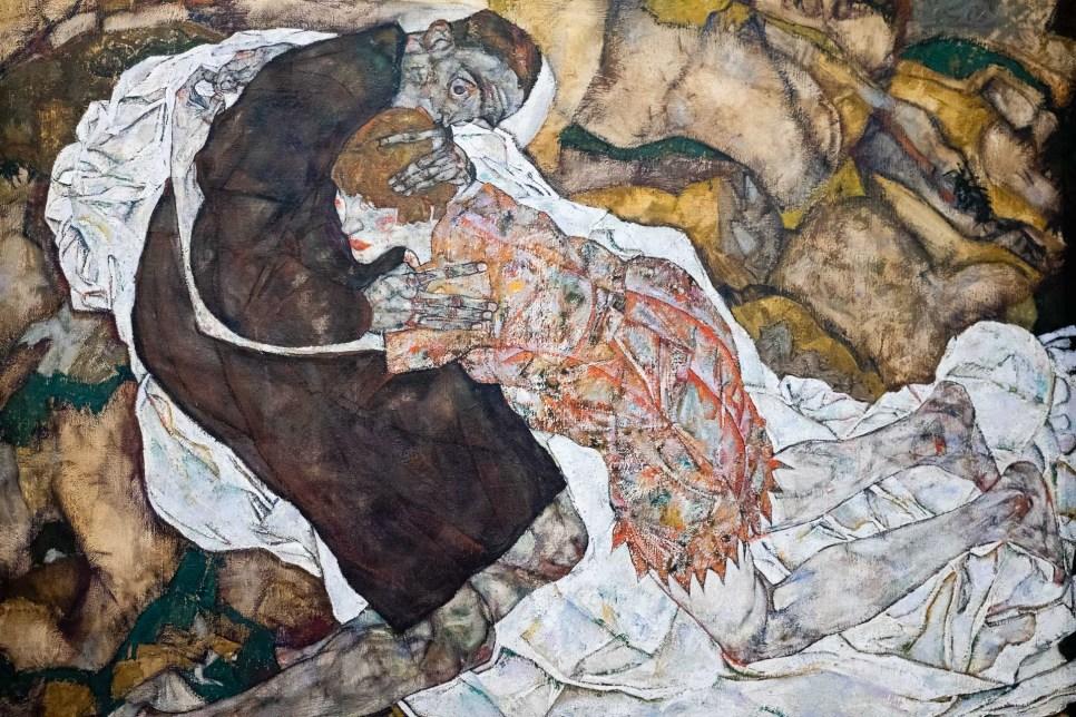La muerte y la novia (Schiele).