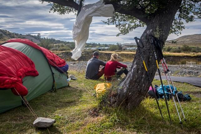 Área de acampada Las Torres.
