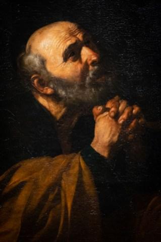 San Pedro penitente, Ribera.