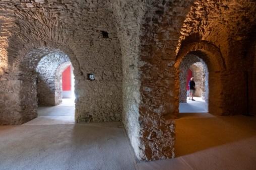 Antiguas bodegas del monasterio.