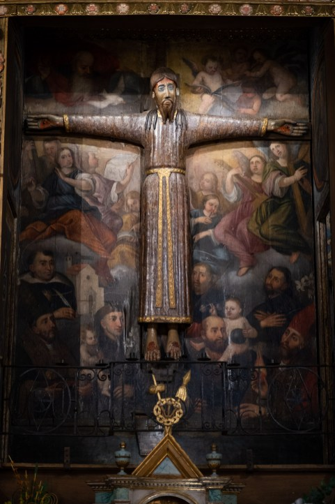 San Cristóbal de Beget. Cristo en Majestad