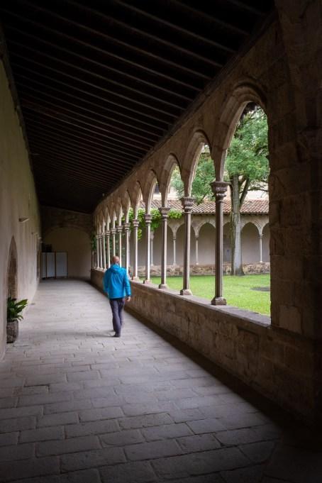 Sant Joan de les Abadesses. Claustro