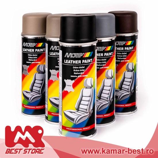 motip spray vopsea pentru piele vinil si piele sintetica tot