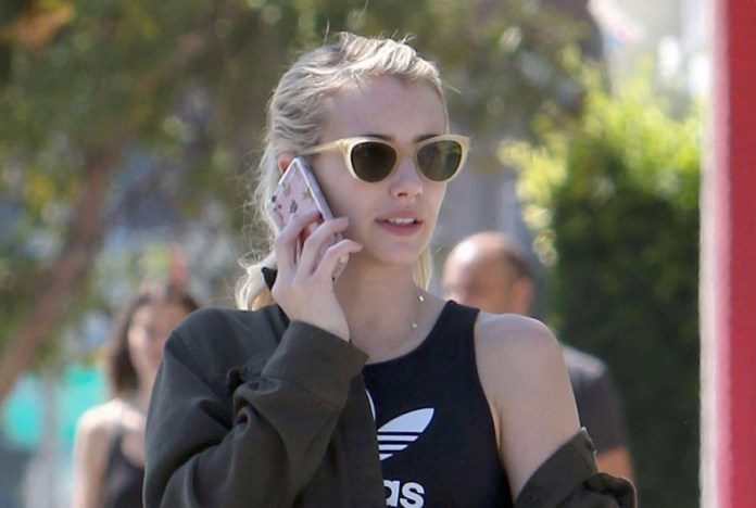 Exclusive... Emma Roberts Out And About In West Hollywood