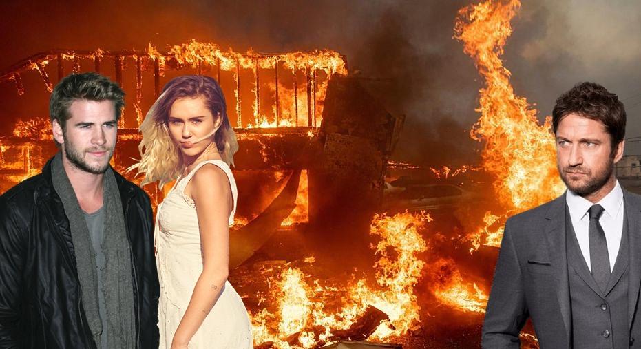 Domy zhoreli už aj Miley Cyrus, Gerardovi Butlerovi a ďalším