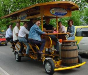 The Famous Beer Bike Bar