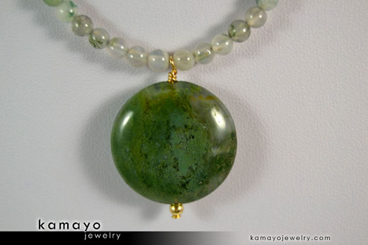 Moss Agate: Stone of Friendship