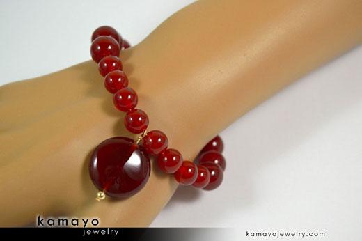 Sard Carnelian Bracelet