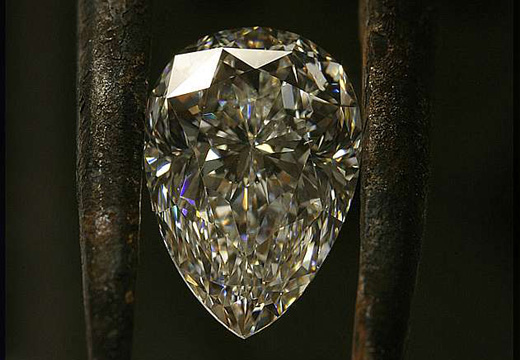 Cut White Diamond