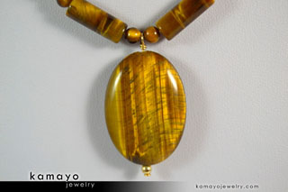 Golden Tiger Eye Necklace - Buy Now