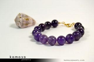 Purple Amethyst Bracelet - Buy Now