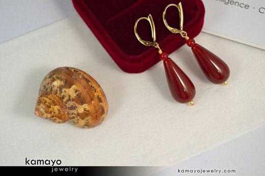 Sard Earrings