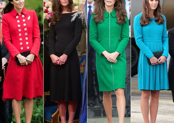 Kate Middleton's $65,000 Royal Tour Wardrobe: See All Of Her Outfits