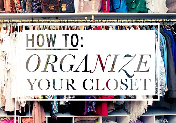 DIY Tutorial: How to Organize Your Closet in 2 Easy Steps!