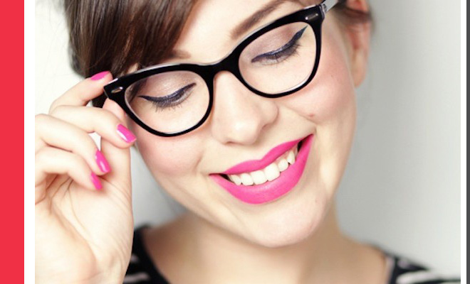 Beauty Guide to Wearing Makeup With Glasses