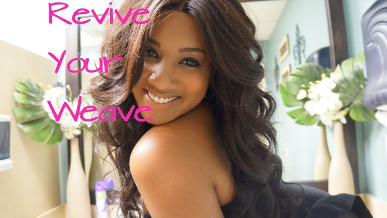 DIY: How To Revive Your Weave