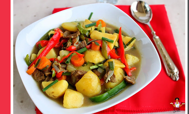 Weekend Recipe: Beef And Potato Soup